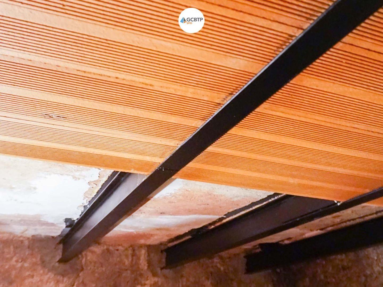 Réparation plafond haut de cave