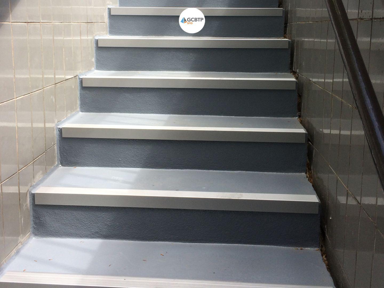 Logo Paris – Réparation escaliers d'accès au parking