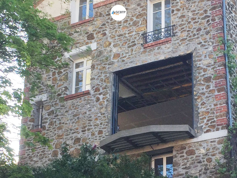 Logo Paris – Ouverture mur porteur