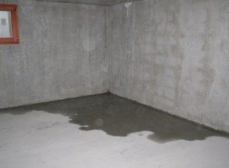 infiltration eau béton